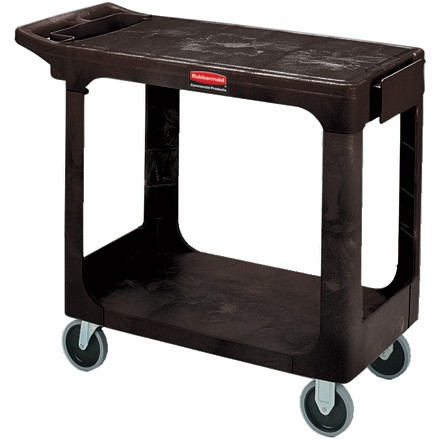 "44 x 26 x 33"" Flat Shelf Cart"