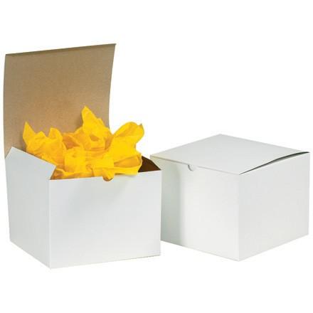 """10 x 5 x 4"""" White Gift Boxes"""