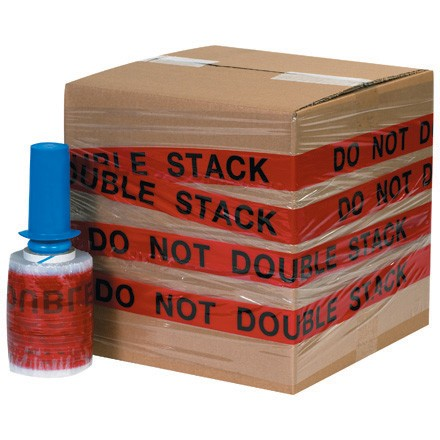 "5"" x 80 Gauge x 500' ""DO NOT DOUBLE STACK"" Goodwrappers® Identi-Wrap"