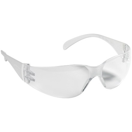 Virtua™  Clear Temples Protective Eyewear