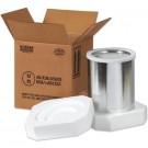 """10 1/4 x 5 1/8 x 6 3/16"""" 2 - 1 Quart Foam Haz Mat Shipper Kit"""