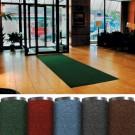 4 x 10' Forest Green Economy Vinyl Carpet Mat