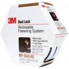 """1"""" x 15' Black 3M MP3541/42 Dual Lock™ Mini Pack Fasteners"""