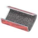 """1/2"""" Sandpaper Open/Snap On Metal Poly Strapping Seals"""