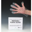 "11"" Poly Gloves - Medium (1 mil)"