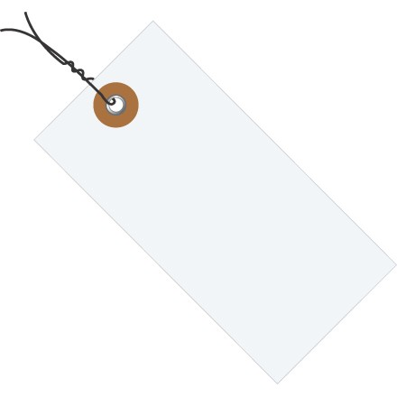 Tyvek Shipping Tags - Pre-Wired