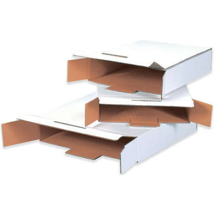 White End-Loading Locking Mailers