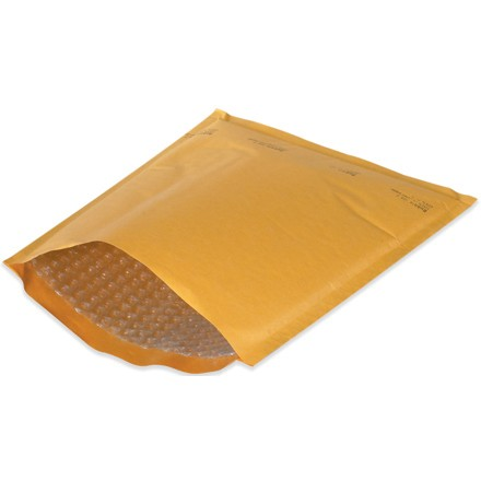 Kraft Heat-Seal Bubble Mailers (25 Pack)