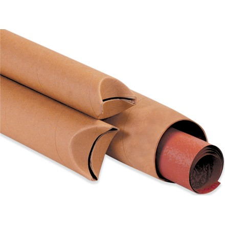 Kraft Crimped End Mailing Tubes