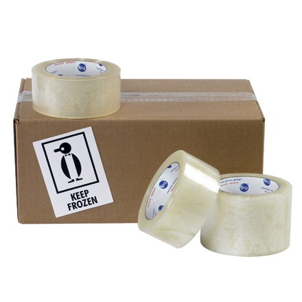 Cold Temperature Carton Sealing Tape