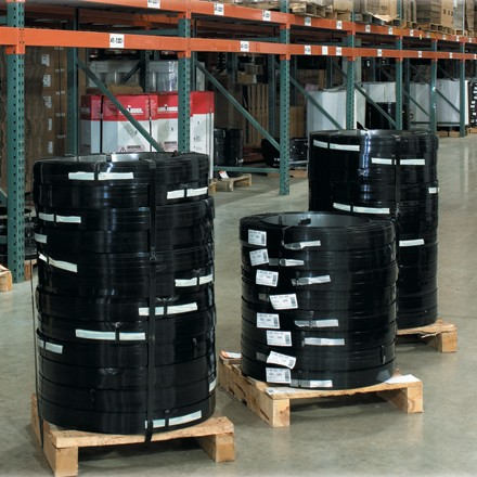 """3/4"""" x .029 Gauge x 1,350' High Tensile Steel Strapping"""
