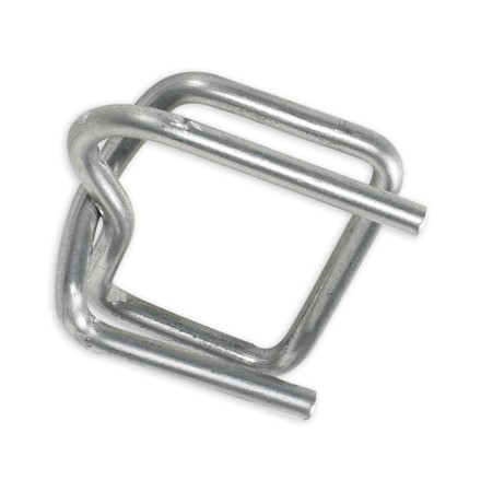 """1/2"""" Wire Poly Strapping Buckles"""