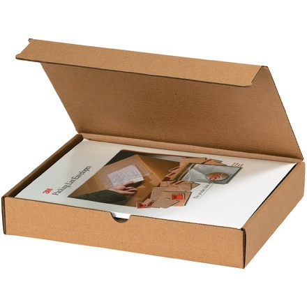 "10 x 6 x 4"" Kraft Literature Mailers"
