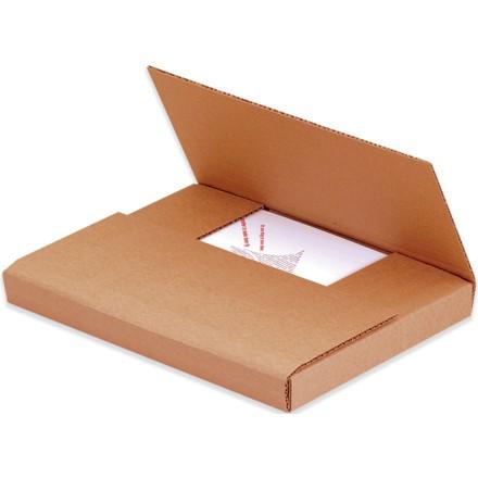 """12 x 10 1/2 x 2"""" Kraft Easy-Fold Mailers"""