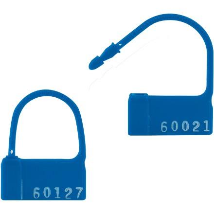 """Red """"PP-2"""" Plastic Padlock® Seals"""