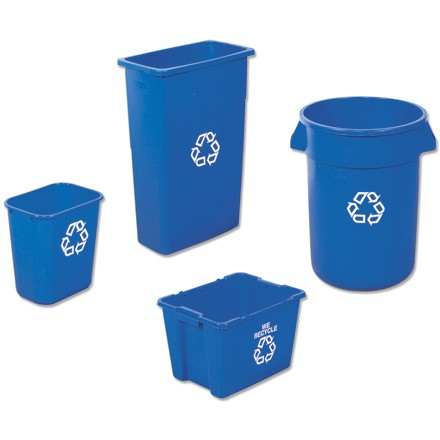 32 Gallon Brute® Recycling Container