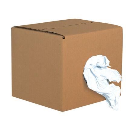 Box of Rags - Standard T-Shirt Rags - 10 lb. Box