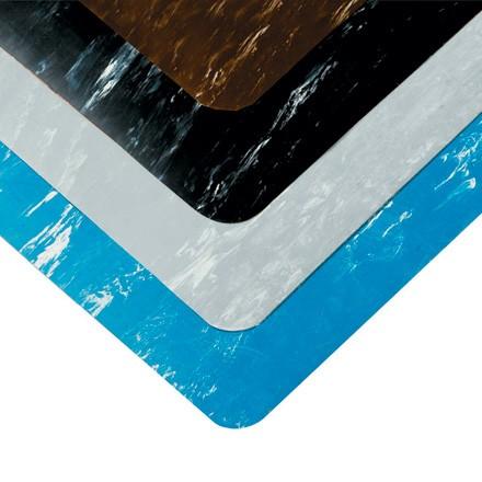 2 x 10' Gray Marble Anti-Fatigue Mat
