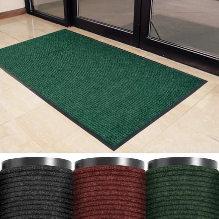 3 x 4' Forest Green Deluxe Vinyl Carpet Mat