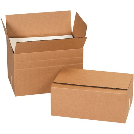 "12 x 12 x 18"" Multi-Depth Corrugated Boxes"