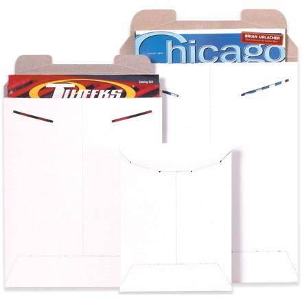"18 x 24"" White Flat Mailers"