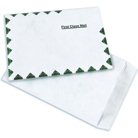 """9 x 12"""" White Flat Tyvek® Envelopes"""