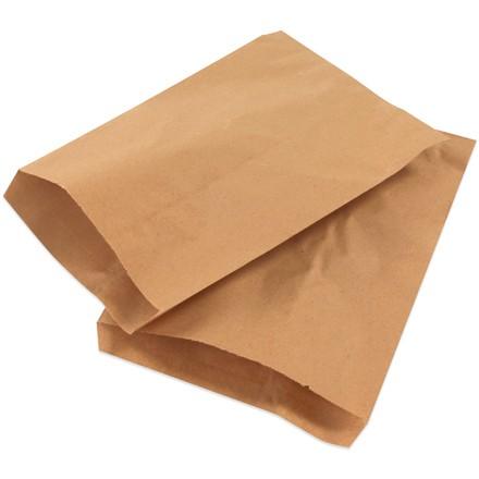 "8 1/2 x 11"" Kraft Flat Merchandise Bags"