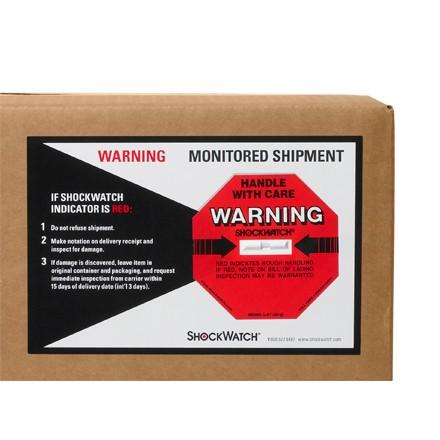 50G ShockWatch Indicators