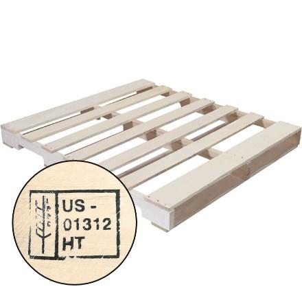 "48 x 42"" New Wood Heat Treated Pallet"