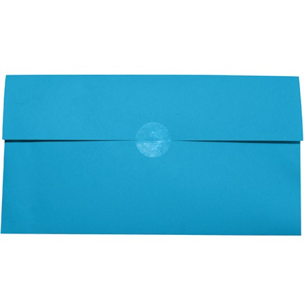 """1 1/2"""" Clear Circle Mailing Labels - Jumbo Roll"""