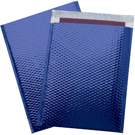 "16 x 17 1/2"" Blue Glamour Bubble Mailers"