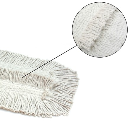 """Deluxe 24"""" Pretreated Dust Mop Replacement Heads"""