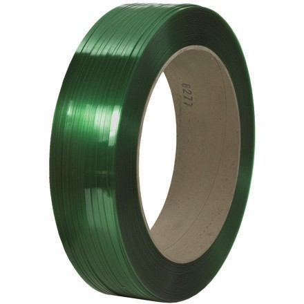 """1/2"""" x 10500' - 16"""" x 6"""" Core Signode® Comparable Polyester Strapping - Smooth"""