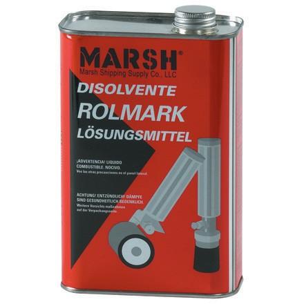 Rolmark Quart of Solvent & Cleaner