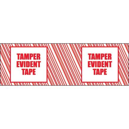 "3"" x 110 yds. ""Tamper Evident"" Print (6 Pack) Tape Logic® Security Tape"