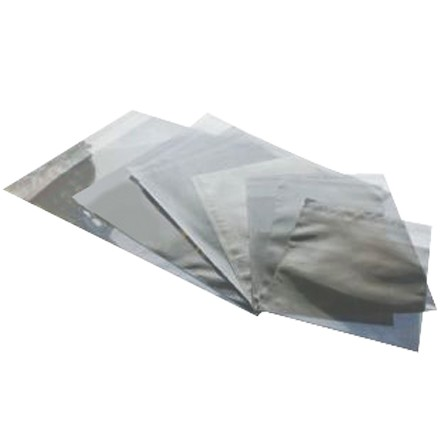 "6 1/4 x 10 1/4"" Translucent Silver Glamour Mailers"