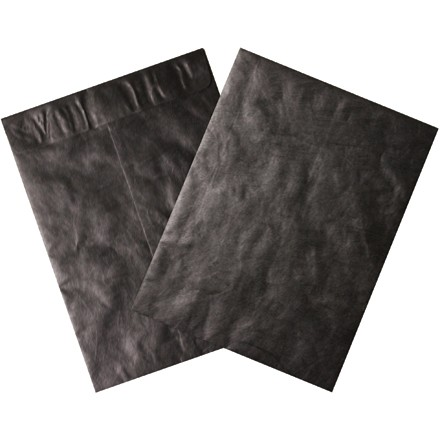 "9 x 12"" Black Tyvek Envelopes"