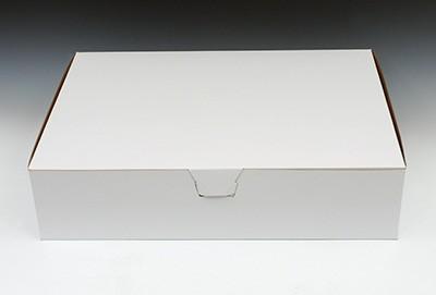 "19"" x 14"" x 4-1/2"" Sheet Cake Box for 1/2 Sheet Cake"