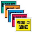 """Packing List Enclosed"" (Full Face) Envelopes"
