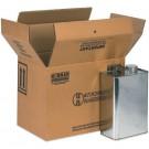 "13 3/4 x 9 x 10 3/8"" 4 - 1 Gallon F-Style Boxes"