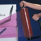 "17"" x  80 Gauge x 1500' Anti-Static Hand Stretch Film"