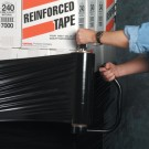 "15"" x  80 Gauge x 1500' Opaque Hand Stretch Film"