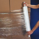 "20"" x  70 Gauge x 1000' Extended Core Cast Stretch Film"