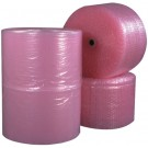 "5/16"" x 24"" x 375' (2) Perforated Anti-Static Air Bubble Rolls"