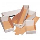 """2 x 12 x 4 1/2"""" White Bin Boxes"""