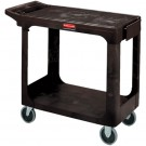 Rubbermaid® Flat Shelf Utility Cart - 38 x 19 x 33""