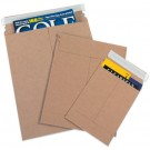 "9 x 11 1/2"" Kraft Self-Seal Flat Mailers"