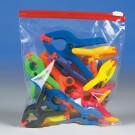 "10 1/2 x 11"" - 2.7 Mil Minigrip Slider Grip Reclosable Poly Bags"