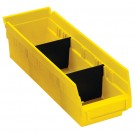 "2 7/8 x 3"" Plastic Shelf Bin Dividers"