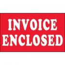 "3 x 5"" - ""Invoice Enclosed"" Labels"